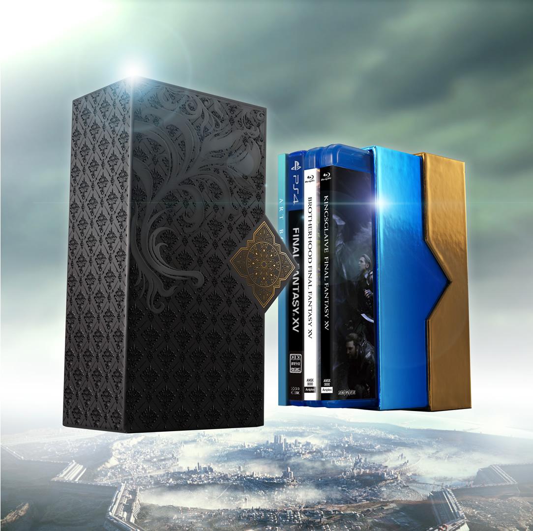 Products kingsglaive final fantasy xv film collections box final fantasy xv voltagebd Choice Image